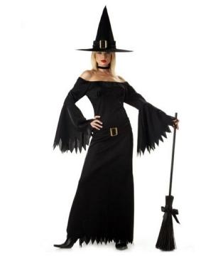 Womens Elegant Witch Costume