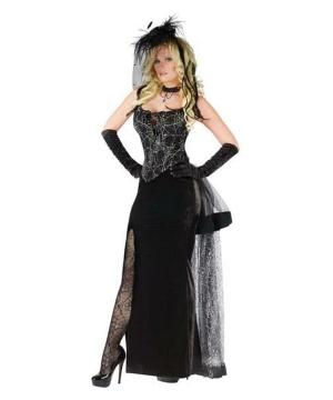 Womens Gothic Spider Costume