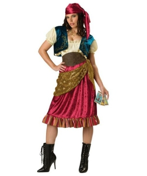 Womens Gypsy Maiden Costume