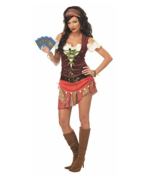 Womens Mystic Gypsy Costume