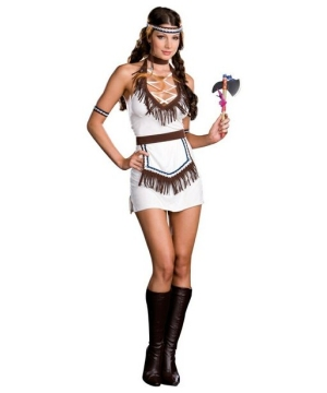 Womens Native Knockout Indian Costume