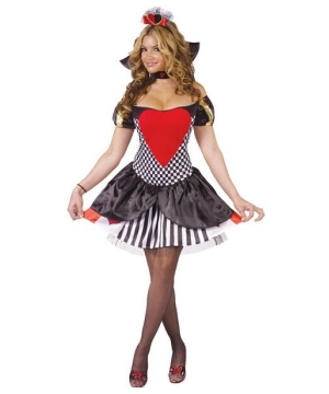 Queen of Hearts Sexy Women Costume
