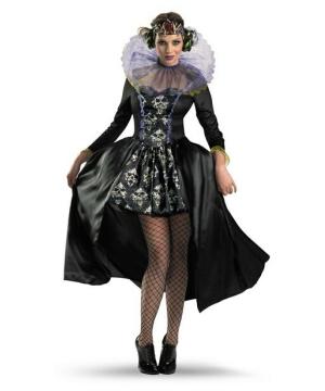 Womens Queen Skull Costume