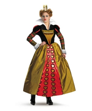 Red Queen Women Costume deluxe