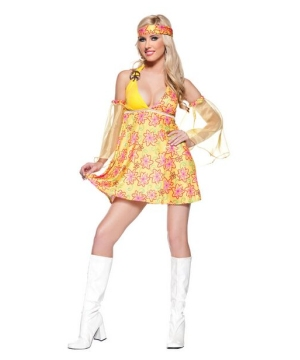 Womens S Flower Costume