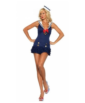 Womens Sweetheart Sailor Costume