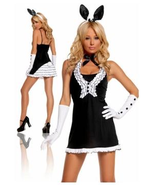 Womens Tie Bunny Costume