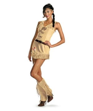 Womens Tonto Sexy Indian Costume