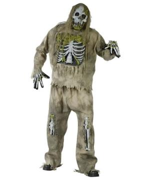 Zombie plus size Costume