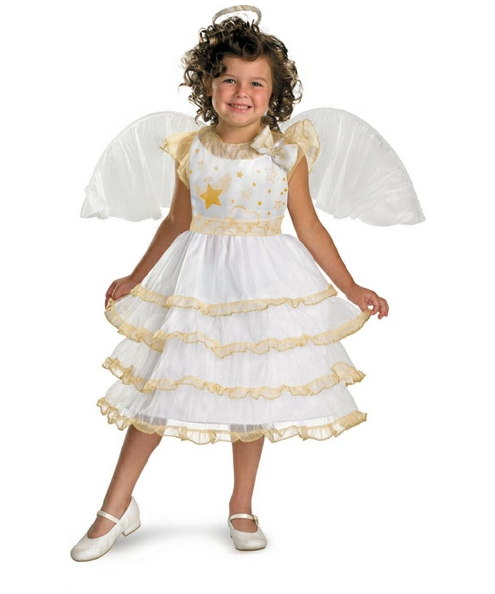 - Angel Belle Disney Kids Costume - Girls Disney Costumes