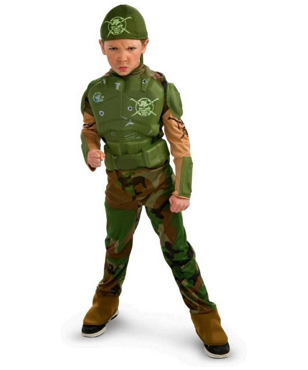 Combat Marine Costume - Kids Costume - Halloween Costume at Wonder ...