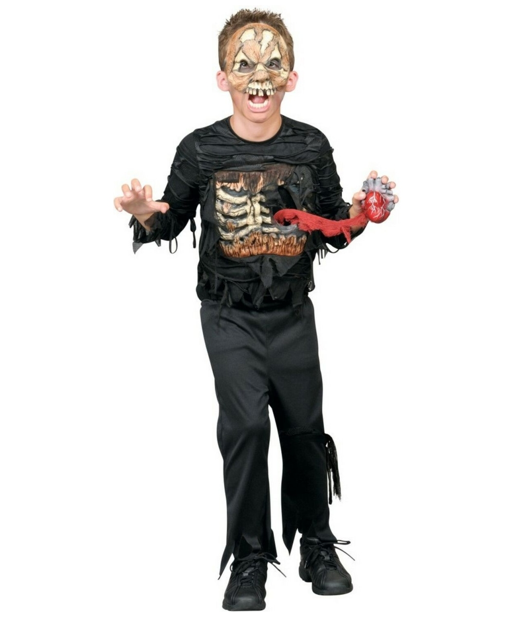 zombie heartless kids halloween costume boys costumes - Halloween Costumes Of Zombies