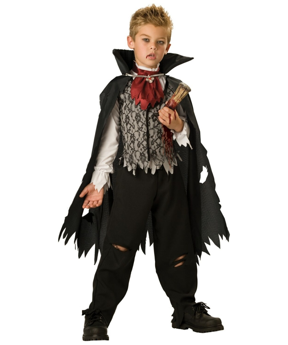 vampire b slayed kids halloween costume boys vampire. Black Bedroom Furniture Sets. Home Design Ideas