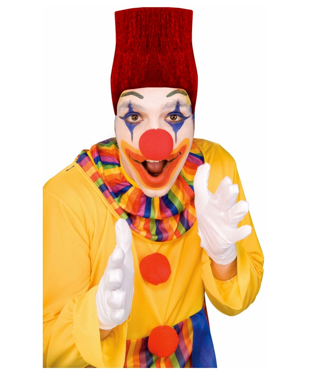 Adult Clown Hip Hop Wig Clown Halloween Costumes