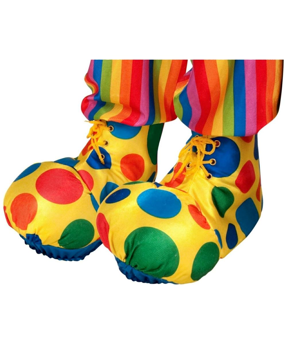 Выкройка ботинки для клоуна
