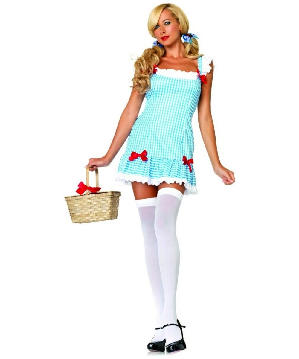 dorothy darling dothy adult costume women movie costumes - Dorothy Halloween Costume Women