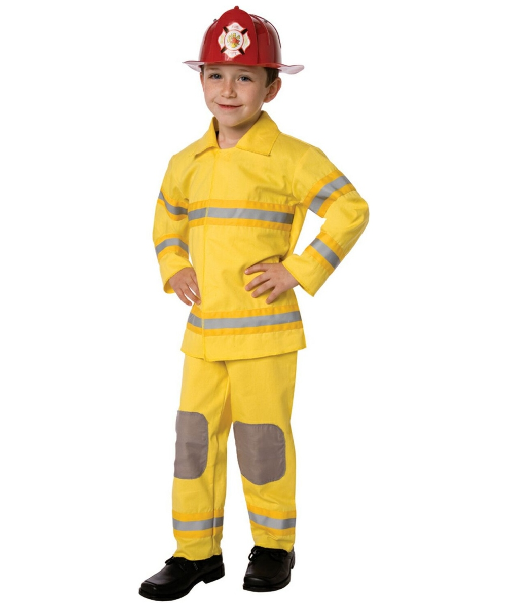 fireman costume kids costume fire halloween costume at wonder costumes - Fireman Halloween