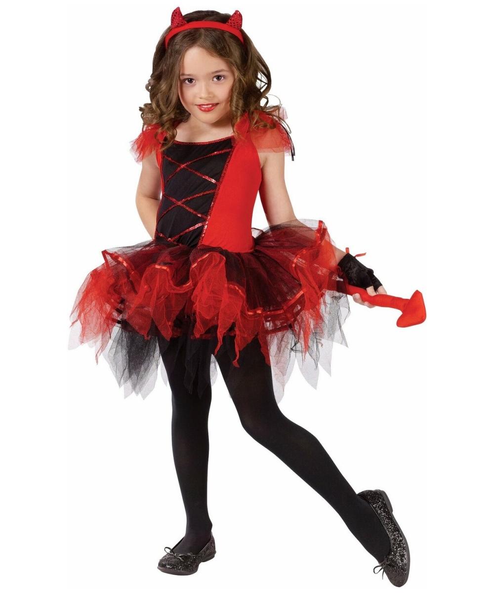 Devilina costume kids girl devil costumes
