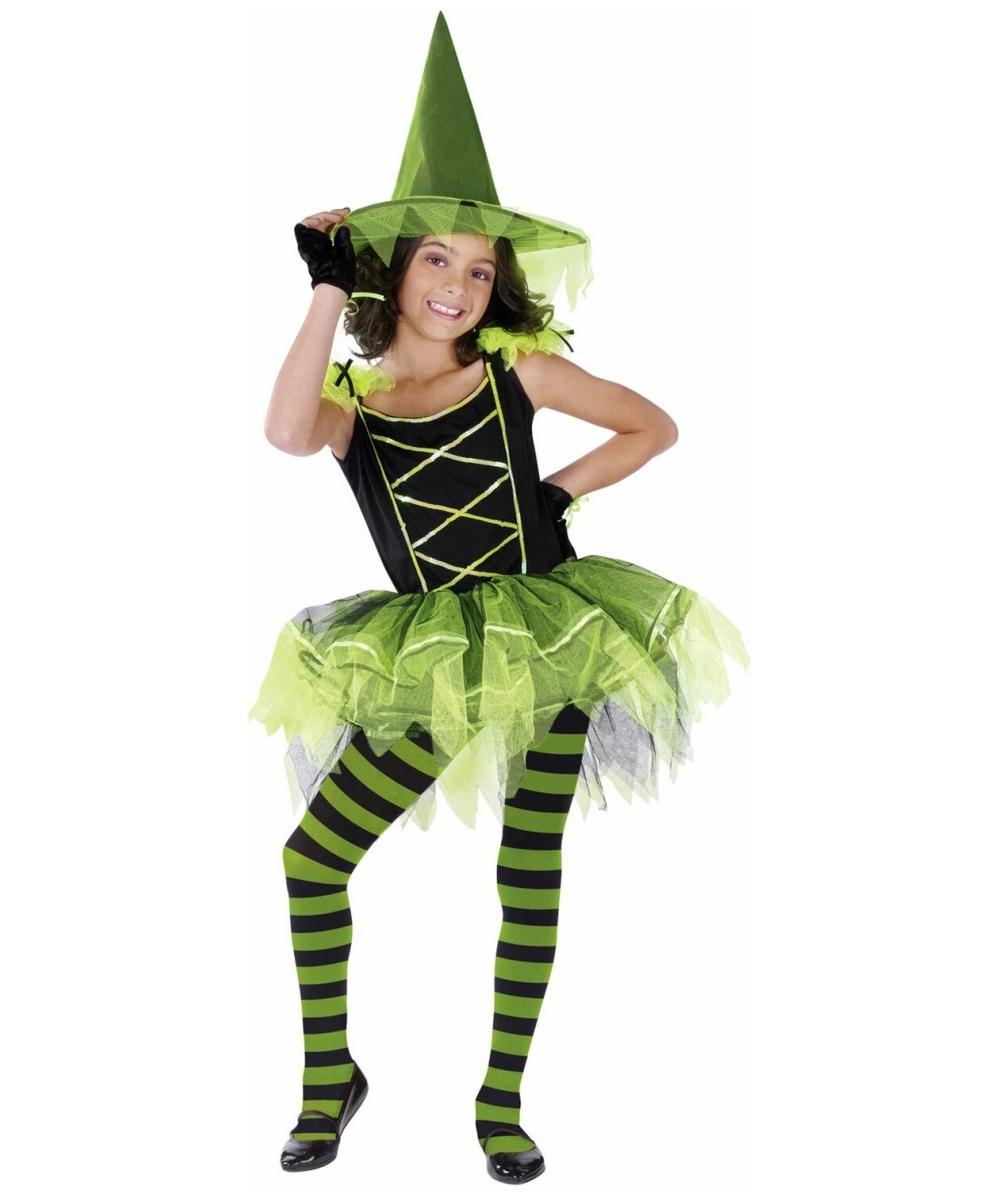 witch ballerina halloween costume girls disney costumes