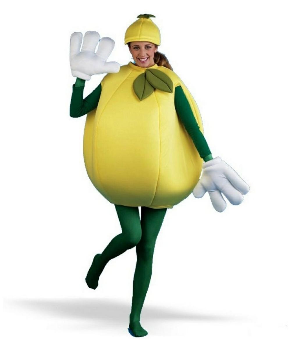 Lemon Costume Adult Costume Clown Halloween Costume At