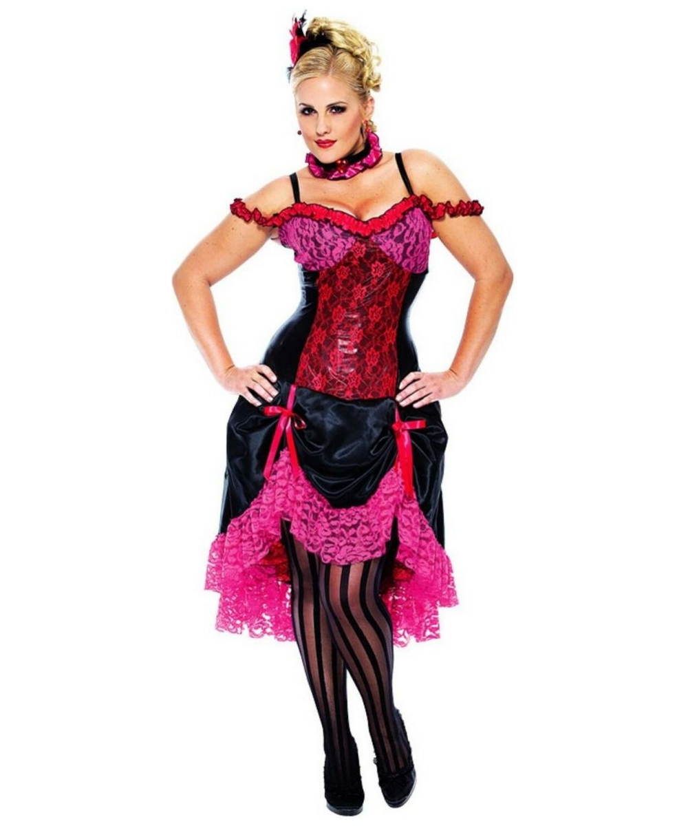 Madame Can Can Costume Adult Plus Size Costume Women