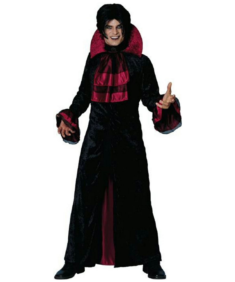 Adult Evil Count Vampire Halloween Costume