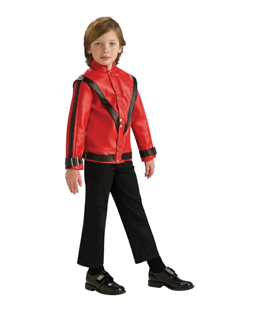 Michael Jackson Thriller Jacket Costume - Kids Costume Deluxe ...