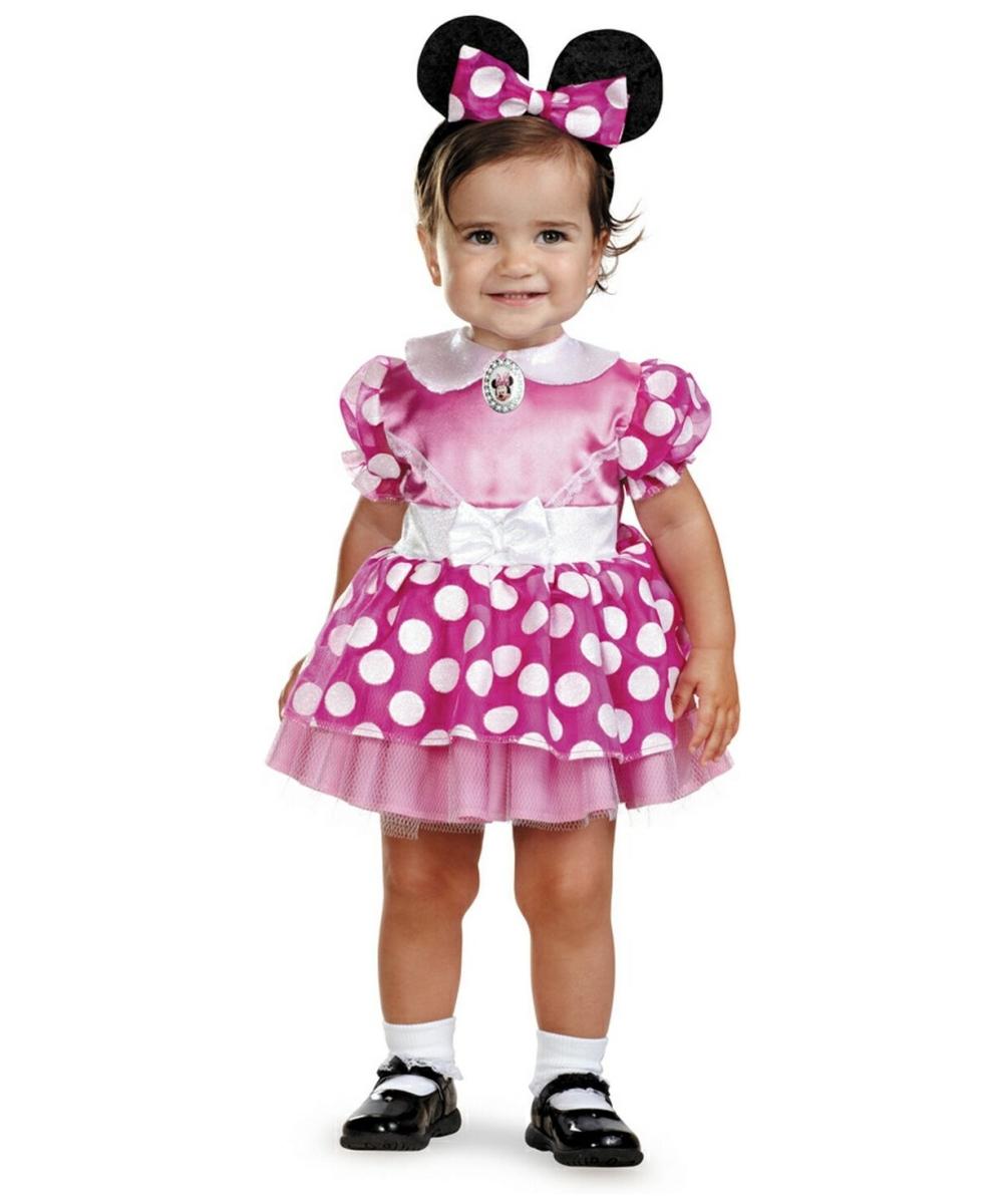 - Minnie Mouse Disney Baby Costume - Girls Disney Costumes
