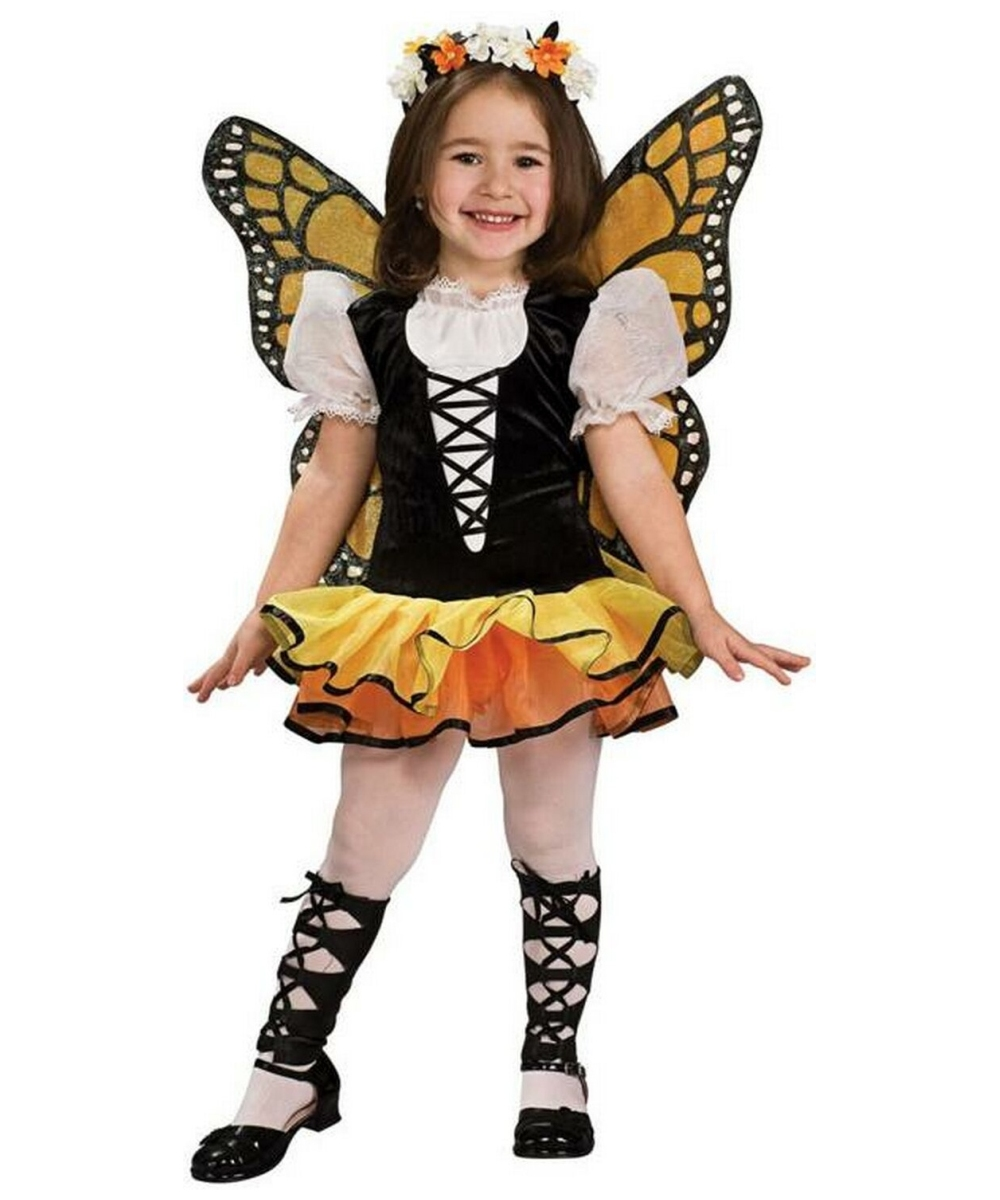 butterfly monarch costume toddler child costume butterfly