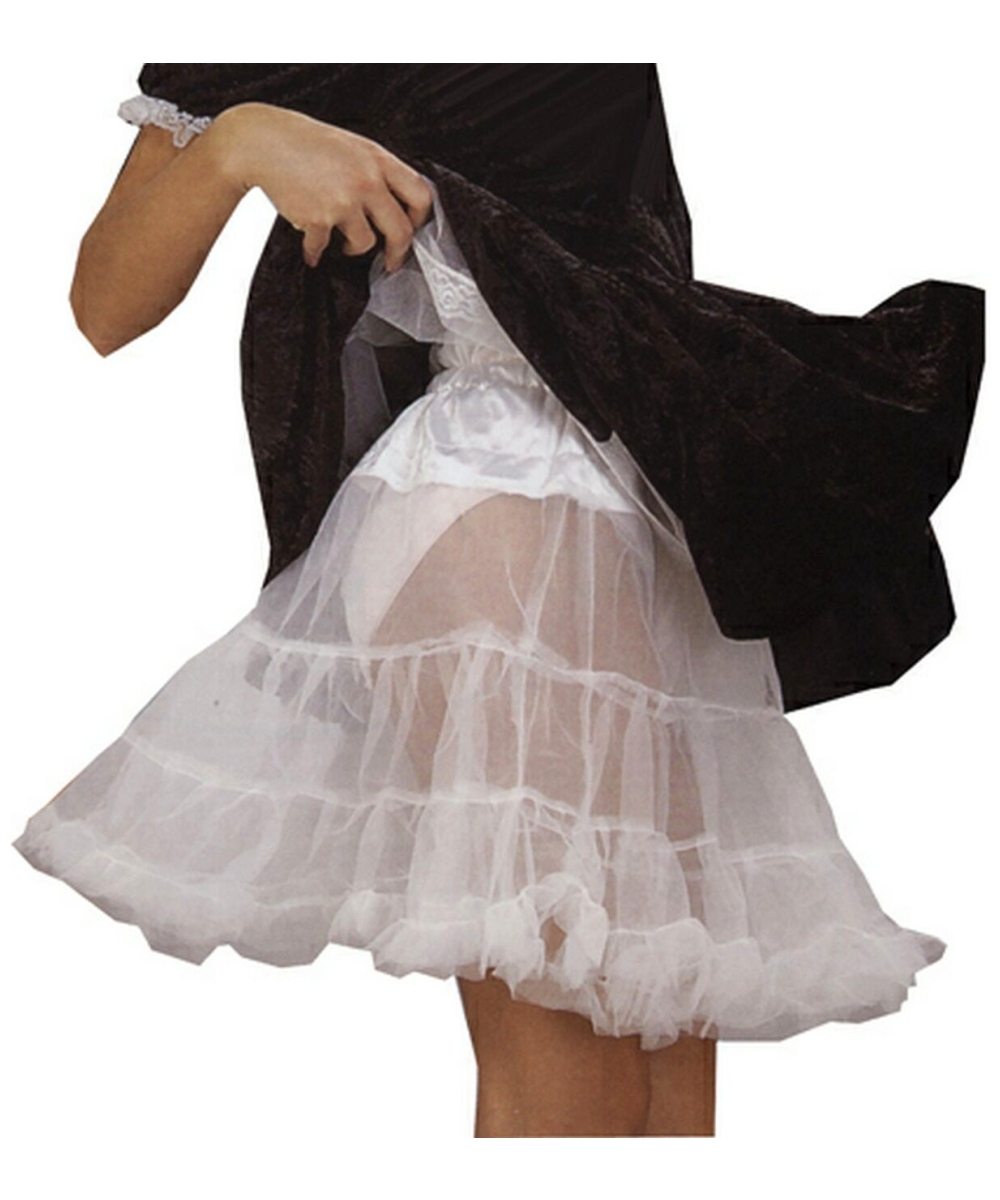 Wedding Plus Size Petticoat adult petticoat white women costume
