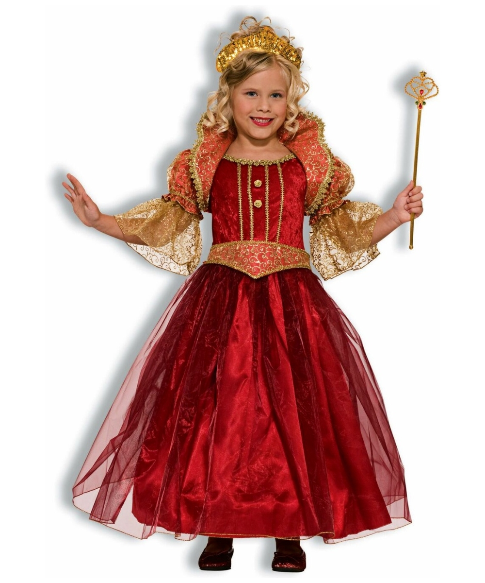 Renaissance Damsel Kids Disney Princess Costume - Girls Renaissance Costumes