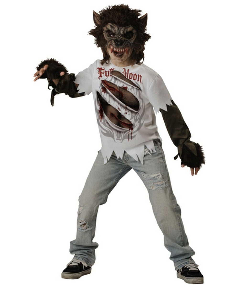 werewolf scary kids costume boy werewolf costumes - Halloween Scary Costumes For Boys