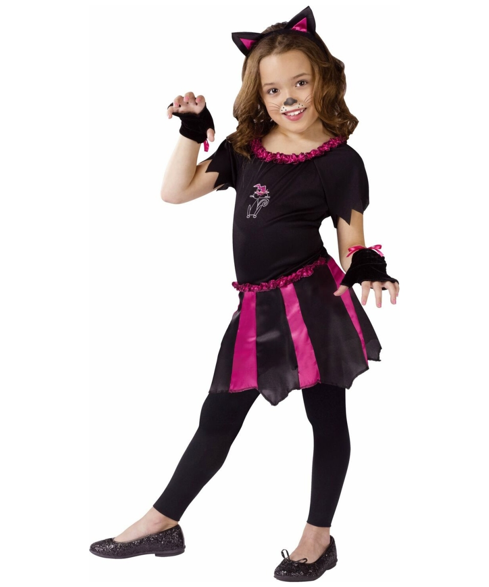 sweetheart cat costume kids costume halloween costume at wonder costumes - Cat Outfit For Halloween