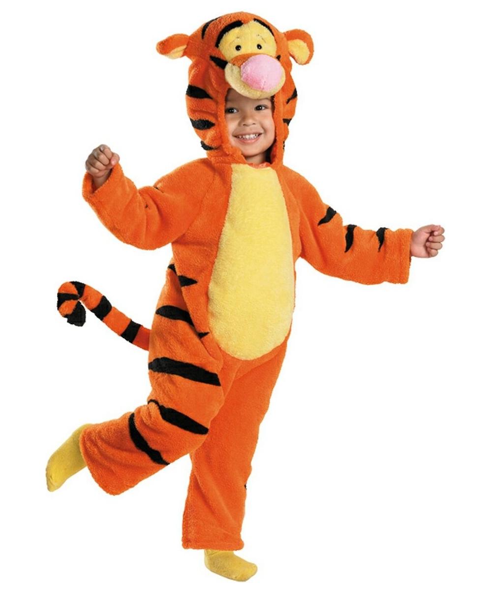 kids tigger plush disney halloween costume dinsey costumes - Kids Disney Halloween Costumes