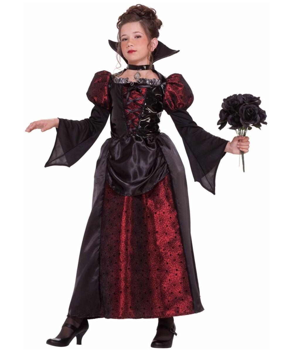 Vampire Miss Kids Halloween Costume