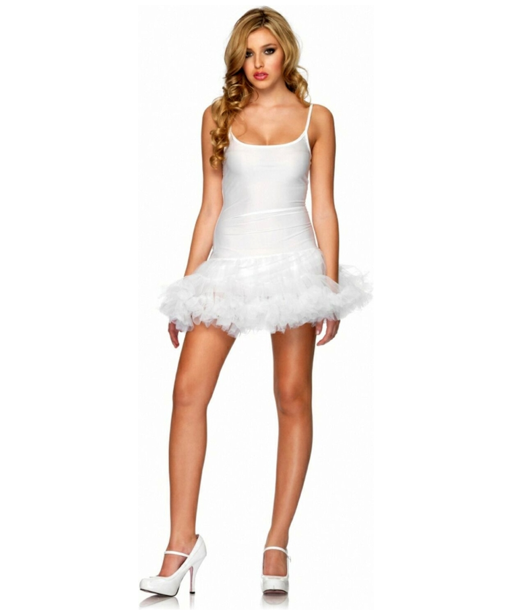 adult white dress petticoat women halloween costume - Halloween Petticoat