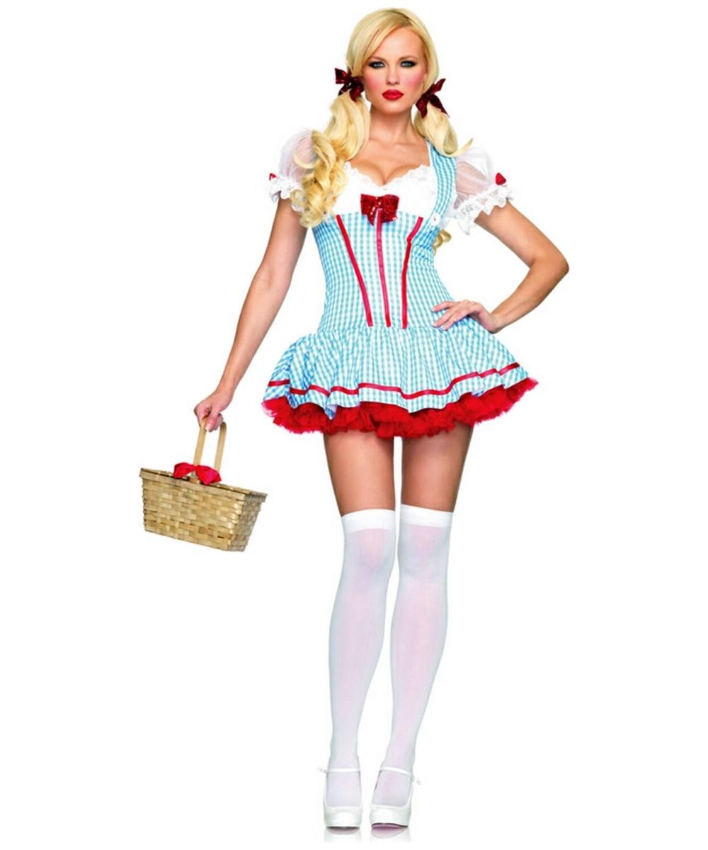 dorothy diva dothy costume adult costume women movie costumes - Dorothy Halloween Costume Women