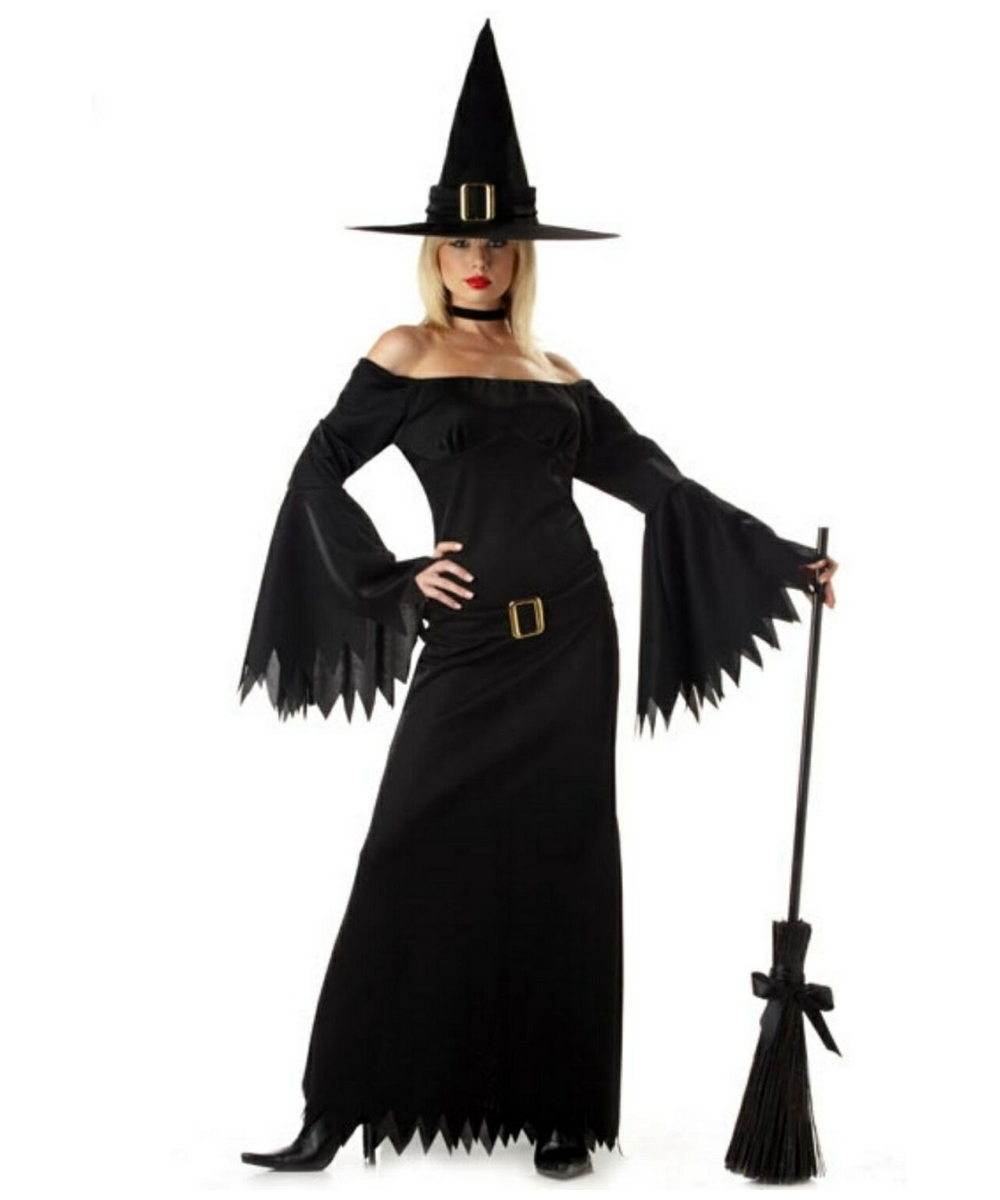 Elegant Witch Adult Costume - Women's Halloween Costumes