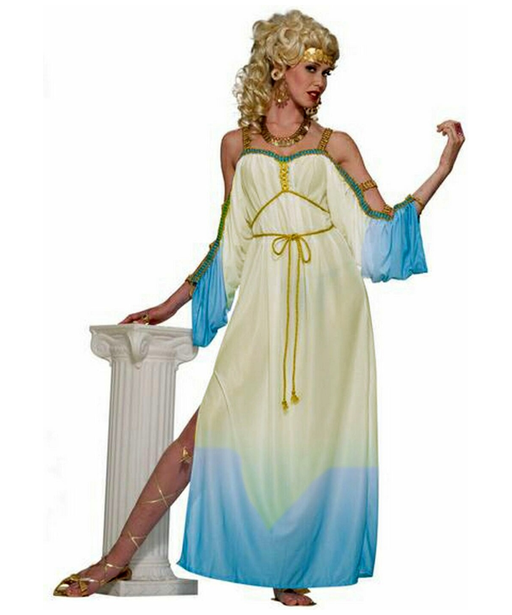 Calypso Goddess Costume Adult olympic goddess greek halloween costume ...: galleryhip.com/calypso-goddess-costume.html