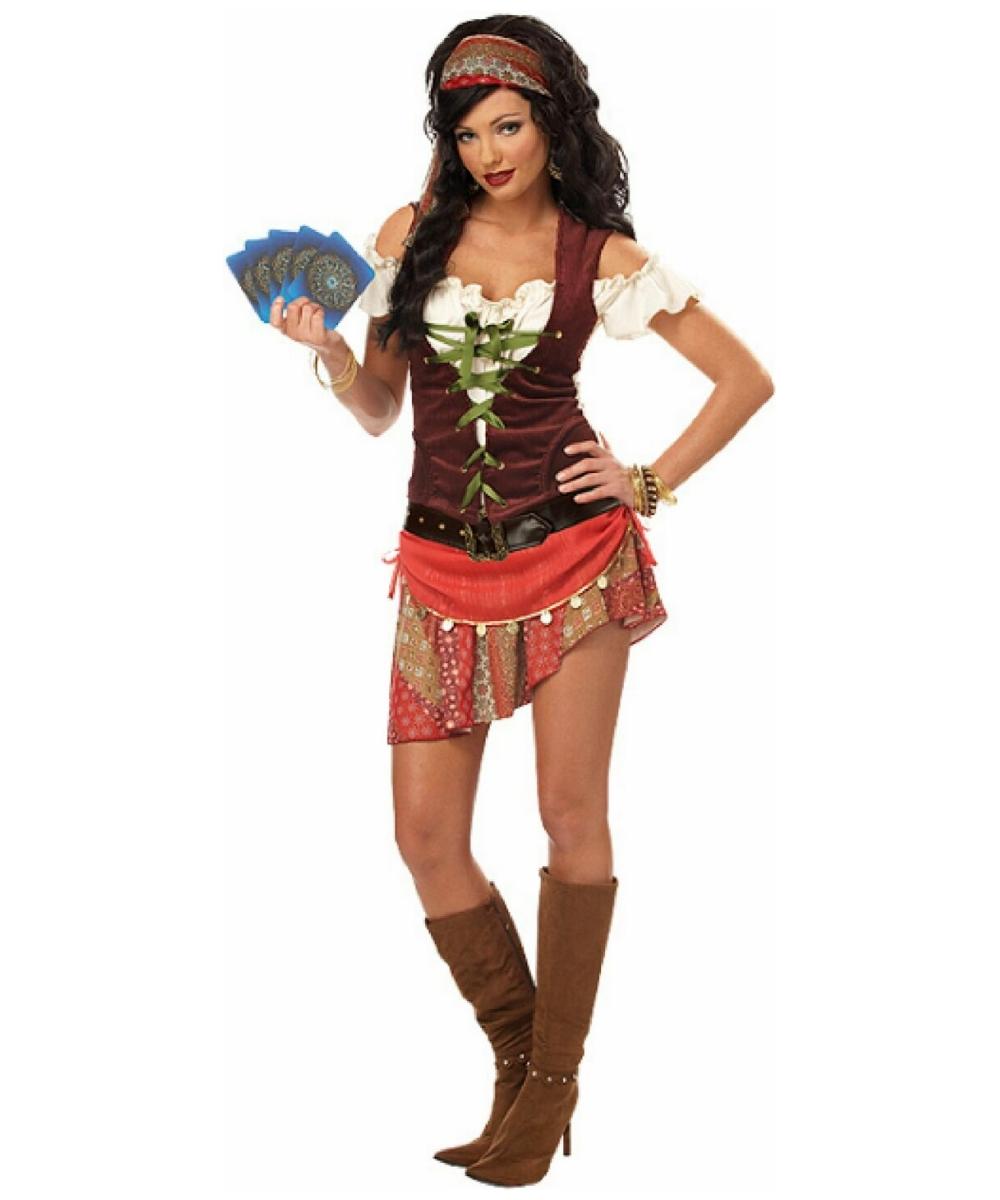 Womens Mystic Gypsy Costume