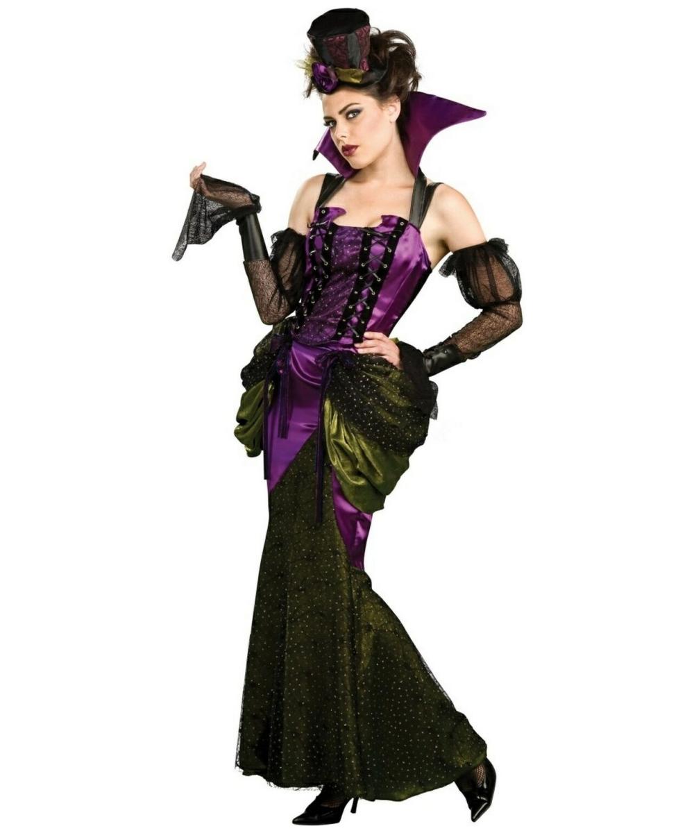 adult victorian vampiress halloween costume vampire costumes - Halloween Costumes Victorian