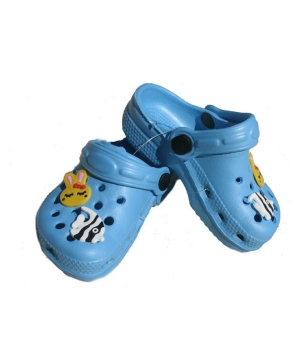 Blue Clog Babykids Shoes
