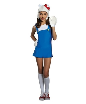 Blue Romper Girl Costume