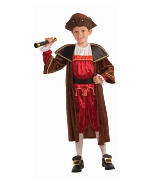 Boys Columbus Costume