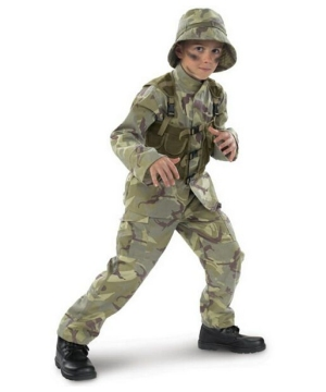 Boys Delta Force Costume