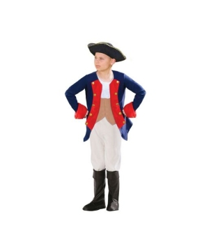 Boys Patriot Soldier Costume