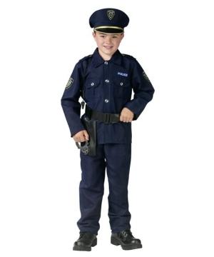 Boys Police Man Costume
