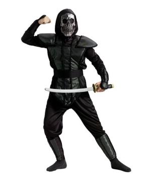 Boys Skull Ninja Master Costume