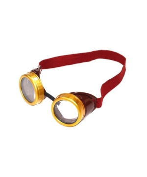 Brown Steampunk Adult Goggles