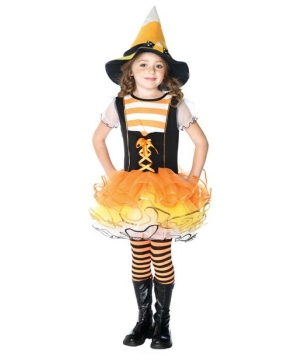 Candyland Witch Kids Costume